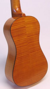 Curly Maple with Antique Violin Varnish by Jonathan Cooper